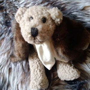 Boyds bears plush fur coat tag teddy skidoo
